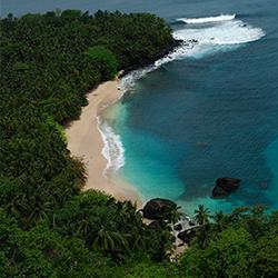 island in the Atlantic Ocean