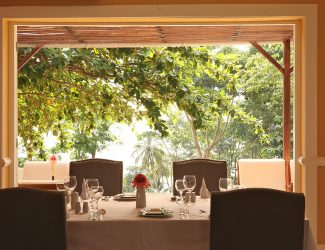 restaurant with window